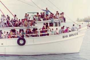 Image from Muriel Boatlift during a wave of Migration from Cuba