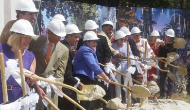Ground Breaking in April 2016