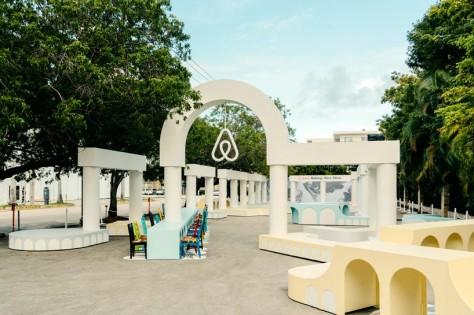 AirBnB Installation at Design Miami