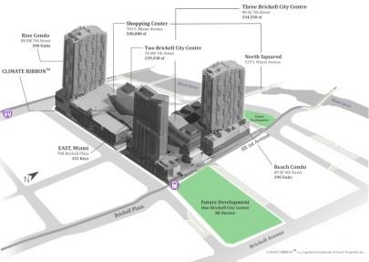 Brickell City Center Axonometric