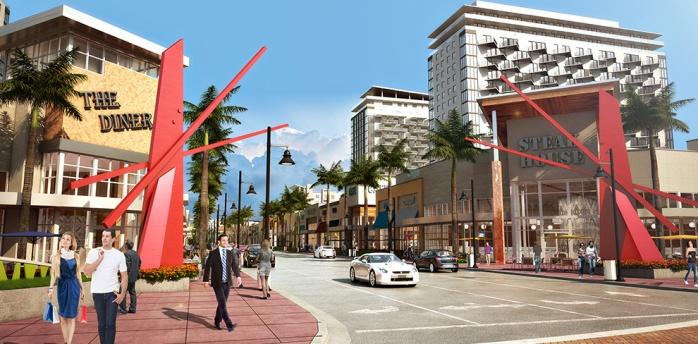 Doral Downtown embraces the street as a public place