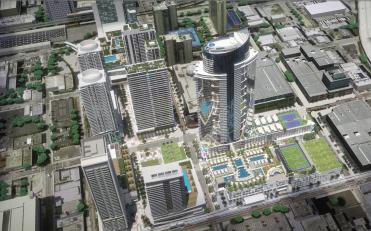 Miami World Center Aerial