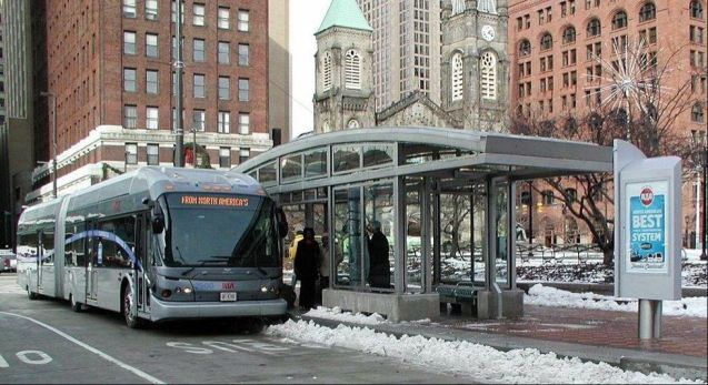 Cleveland HealthLine Rapid Bus System