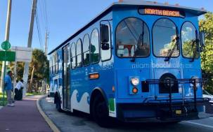 Miami beach trolley