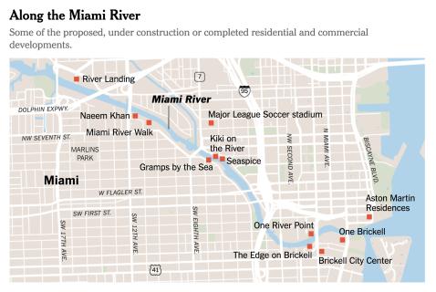River map ny NYT