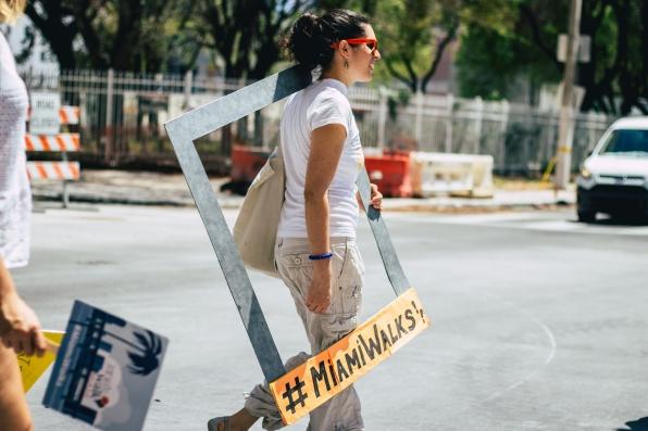 Naomi, the leader of Miami Walks