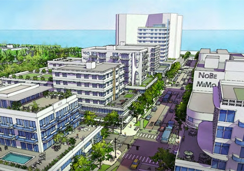 Dover, Kohl & Partners zoning proposal as part of the North Beach Town Center