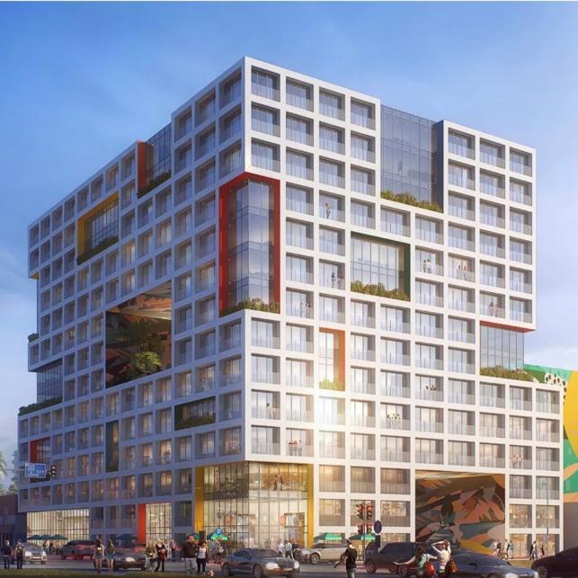 Arquitectonica Designed mixed use development, Wynwood Gateway