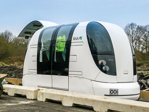 PRT system used in airports