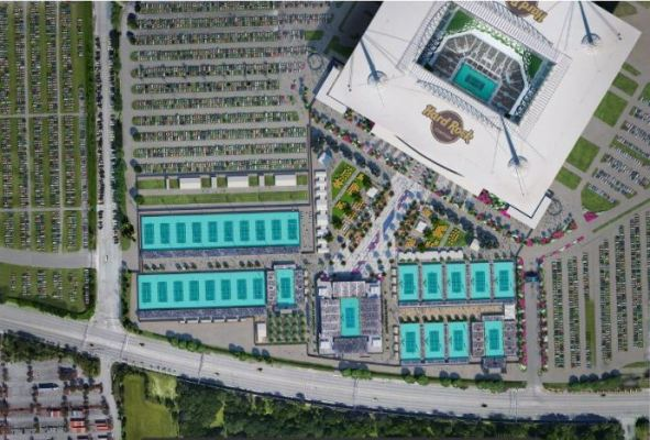 Miami Open Plan