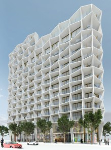 Studio Gang, proposed residential building in Design District